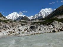 Dudh Khola - Milk river - Bhimtang - Nepal Stock Photo