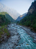 Dudh Khosi river Royalty Free Stock Image