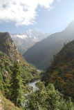 Dudh Kosi Valley, Himala Royalty Free Stock Photos