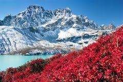Free Dudh Pokhari Gokyo Lake And Phari Lapche Peak Royalty Free Stock Photo - 63521325