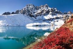 Free Dudh Pokhari Gokyo Lake And Phari Lapche Peak Royalty Free Stock Image - 66842776