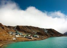 Dudh pokhari lake, gokyo, Arakam ts Royalty Free Stock Image