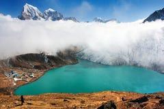 Dudh pokhari lake, gokyo - nepal Royalty Free Stock Image