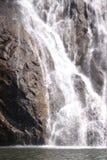 Dudhsagar - водопад в джунглях Стоковые Изображения RF