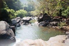Dudhsagar falls. GoA INDIA.heigt 600 meters. royalty free stock photos