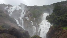 Dudhsagar falls Royalty Free Stock Photo