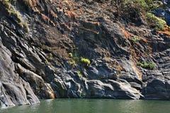 Dudhsagar lake in Karnataka. India Stock Photos