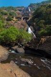 Dudhsagar Wasserfall Lizenzfreies Stockbild