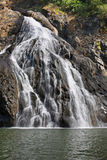 Dudhsagar waterfall in Karnataka. India Royalty Free Stock Photos
