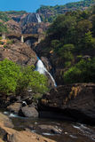 Dudhsagar Waterfall Royalty Free Stock Images