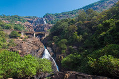 Dudhsagar Waterfall Royalty Free Stock Photos
