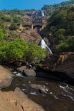 Dudhsagar Waterfall Royalty Free Stock Image