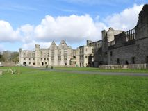 Free Dudley Castle Courtyard Ruins On A Fine Autumn Day Royalty Free Stock Image - 157991746