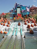 Dudley Do-Right's Ripsaw Falls Island of Adventure stock photos