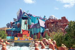 Dudley Do-Right's Ripsaw Falls Island of Adventure Stock Photography