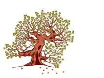 dudniący drzewo Fotografia Royalty Free