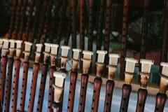 Duduk nazionale armeno dello strumento musicale Mercato delle pulci Vernissage Yerevan, Armenia Immagini Stock