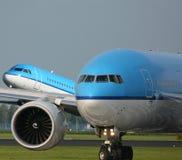 Due aerei fotografia stock libera da diritti