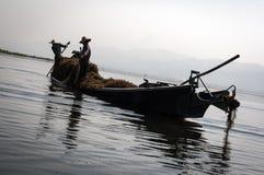 Due agricoltori birmani Immagine Stock Libera da Diritti