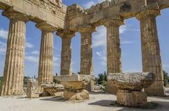 Due altari del selinunte di olympieion del tempio Fotografia Stock Libera da Diritti