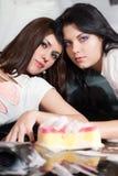 Due amiche Fotografie Stock Libere da Diritti