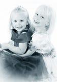 Due amiche Fotografie Stock