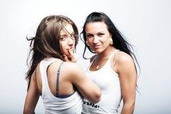 Due amiche Immagini Stock
