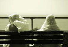 Due amici immagini stock libere da diritti
