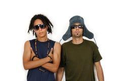 Due amici multiracial Fotografia Stock Libera da Diritti