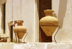 Due amphoras Immagini Stock