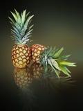 Due ananas Fotografie Stock Libere da Diritti