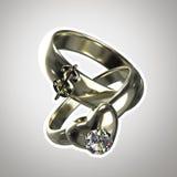 Due anelli, Fotografie Stock