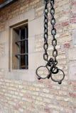Due anelli arrugginiti del ferro Immagine Stock Libera da Diritti