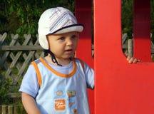 Due anni del ragazzo Fotografie Stock Libere da Diritti