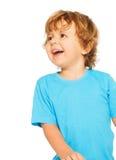 Due anni felici di risata del ragazzo Fotografie Stock Libere da Diritti