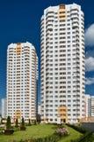 Due appartamenti residental ad alta densità Immagini Stock