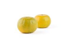Due arance Immagine Stock Libera da Diritti