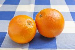 Due arance Immagini Stock Libere da Diritti
