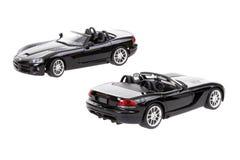 Due automobili del giocattolo della vipera RT10 di espediente Fotografie Stock