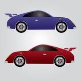 Due automobili sportive eps10 Illustrazione Vettoriale