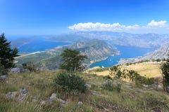 Due baie famose nel Montenegro Fotografia Stock Libera da Diritti