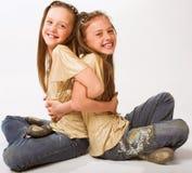 Due bambine Fotografia Stock Libera da Diritti