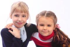 Due bambine Fotografia Stock