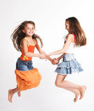 Due bambine Immagine Stock Libera da Diritti