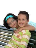 Due bambini Fotografia Stock Libera da Diritti