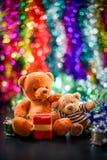 Due bambole dell'orso Immagini Stock