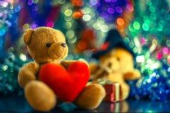 Due bambole dell'orso Immagine Stock