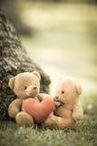Due bambole dell'orso Immagini Stock Libere da Diritti