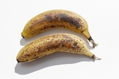 Due banane mature immagini stock libere da diritti