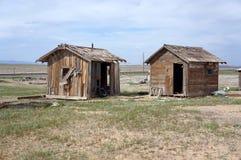 Due baracche fotografia stock libera da diritti